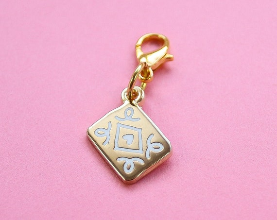 Golden Custard Cream Bullet Journal Charm