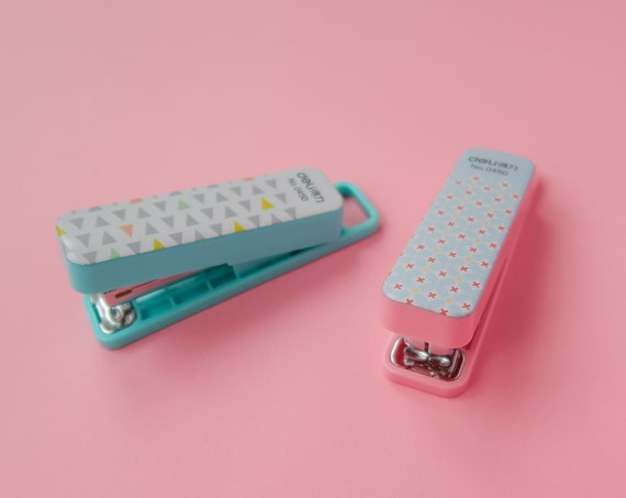 Super Kawaii Pastel Mini Stapler