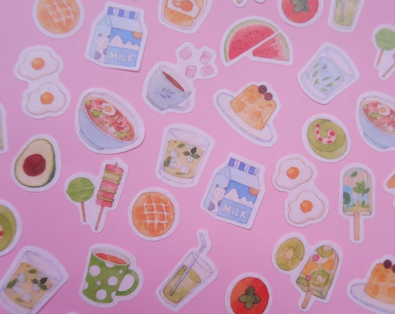 Snack Food Washi Stickers