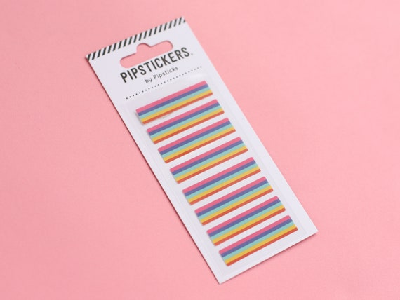 Pipstickers - Mini Rainbow Strip