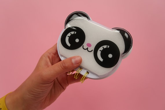 Kawaii Panda Puff Notepad