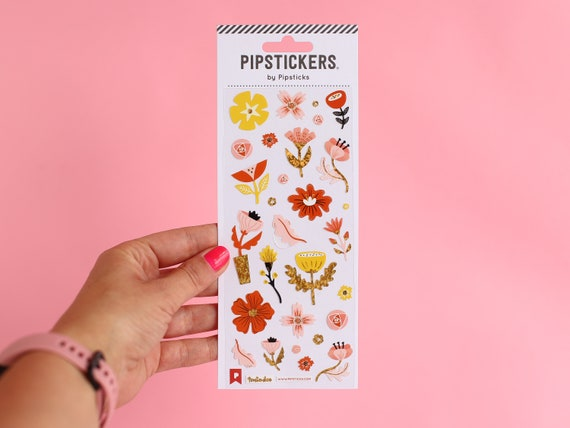 Pipstickers - Tonia Dee - Funky Floral Stickers