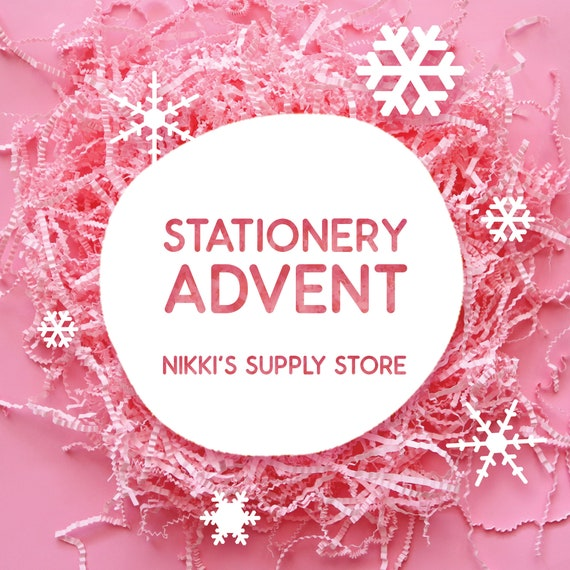 Stationery Advent Treat Box - 2020