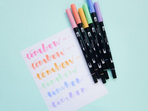 Tombow Pastel Brush pen