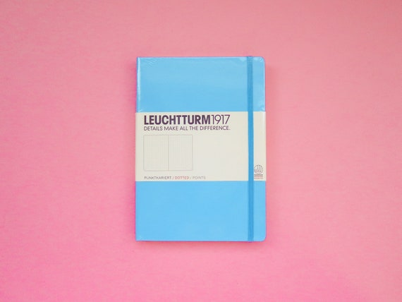 Leuchtturm 1917 Dotted Bullet Journal - Ice Blue