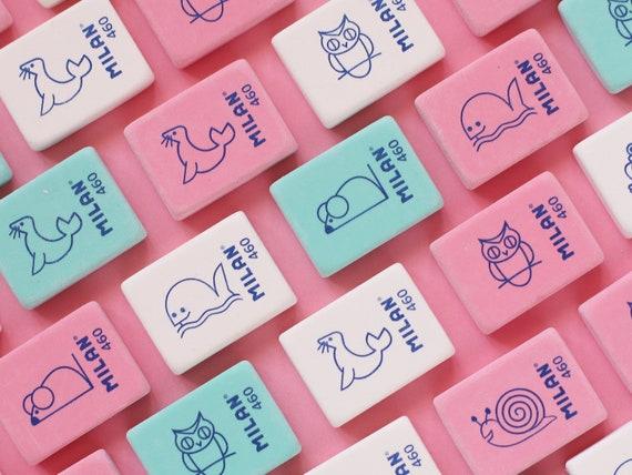 Milan Mini Animal Friends Eraser