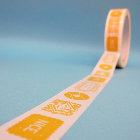 Biscuits Deco Tape - Yellow