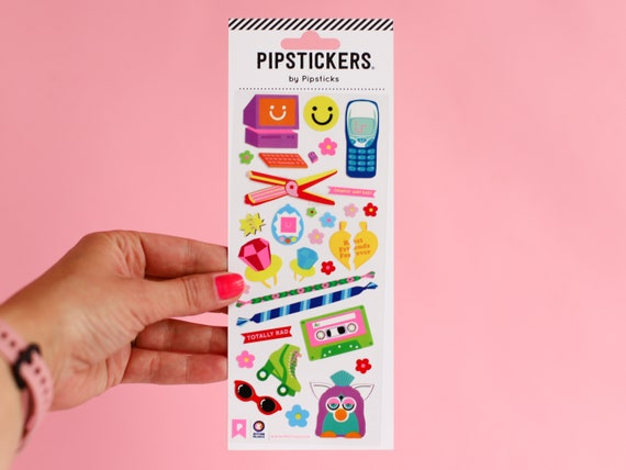 Pipstickers - Kitiya Palaskas - 80's Accessories Stickers