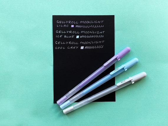 Sakura Gelly Roll Moonlight - Calm Pastels Gel Pens - 3 Pack
