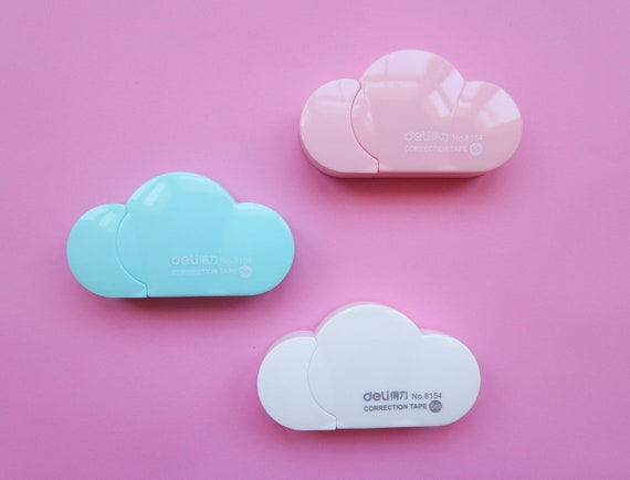 Pastel Cloud Correction Tape