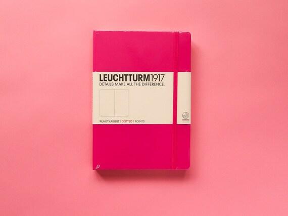 Leuchtturm 1917 Dotted Bullet Journal - Pink