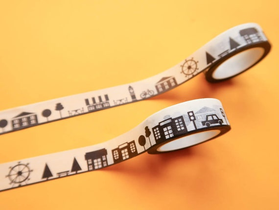 Little City Washi Tape