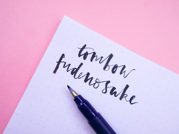 Tombow Fudenosuke Calligraphy Pen