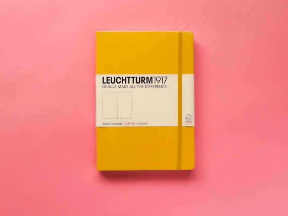 Leuchtturm 1917 Dotted Bullet Journal - Sunshine Yellow