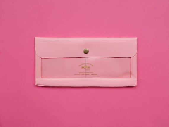 Nahe / Hightide Vinyl Stationery Pouch - Pink
