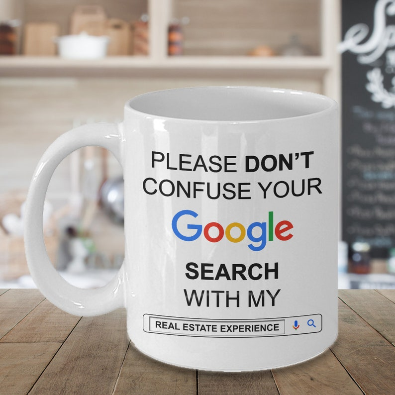 Funny Gift For Real Estate Agent Realtor Gifts Idea Coffee