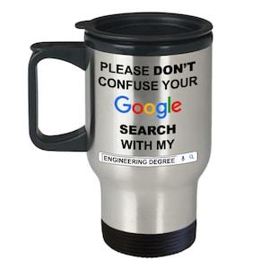 Funny enginner T-shirt /& Mug cadeau-Avertissement peut commencer à parler de génie
