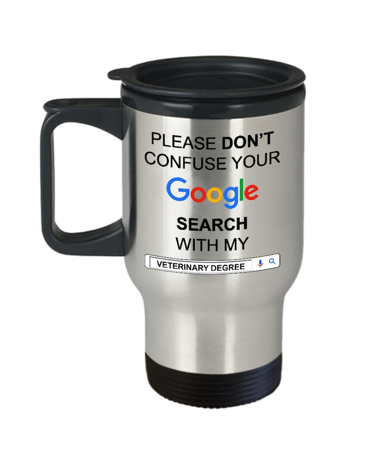 Funny Gift For Veterinarian Gifts Idea Travel Coffee Mugs