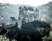 Castle Eltz photo print on canvas