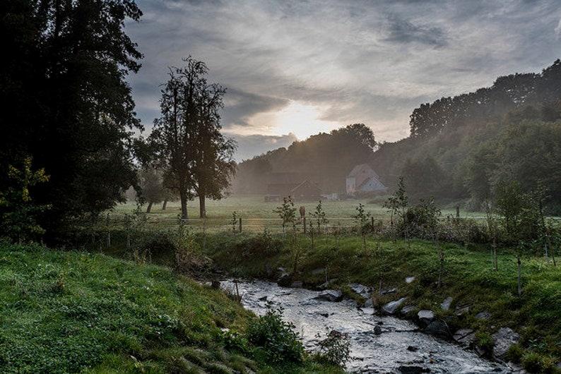 Ratingen Landscape Art Print 60 x 40 cm image 0