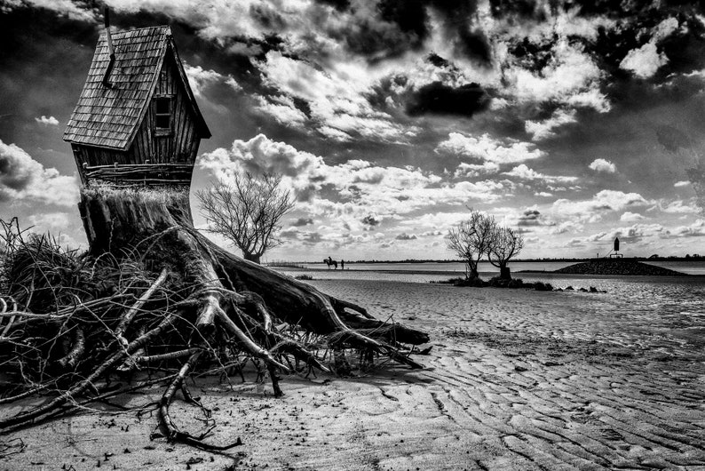 House by the sea-photo printing on Alu Dibond image 0