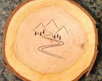 Cherry Mountain Stream Coaster