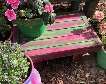 Royal Meditation Garden Altar Table/Bench Mini
