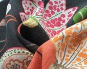 Childrens Linen Prints Whimsical Modern Home Decor Colorful Floral Pillows Pindler Florina Fun DIY Spring Skirt Fabric Kids Crafts