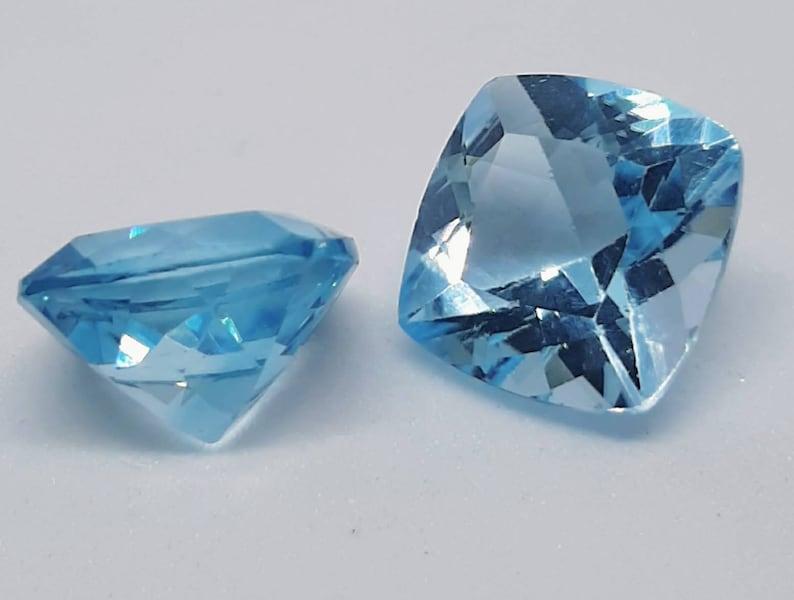 Blue Topaz Gemstone.