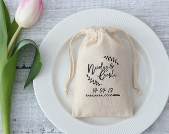 50 wedding favor bags personalized logo printed bags candy buffet bag wedding favors packaging small gift bag for wedding candle packaging