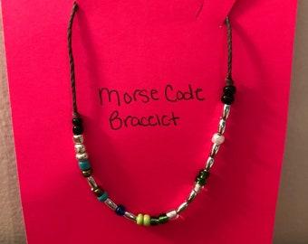 Morse Code Serendipity Bracelet
