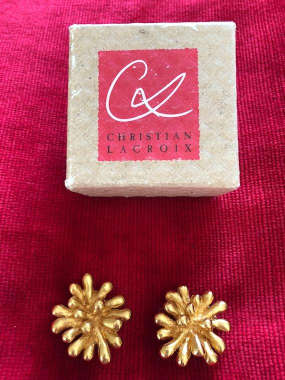 Christian Lacroix vintage earrings - image 1