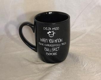 Coffee Mug Deja Moo