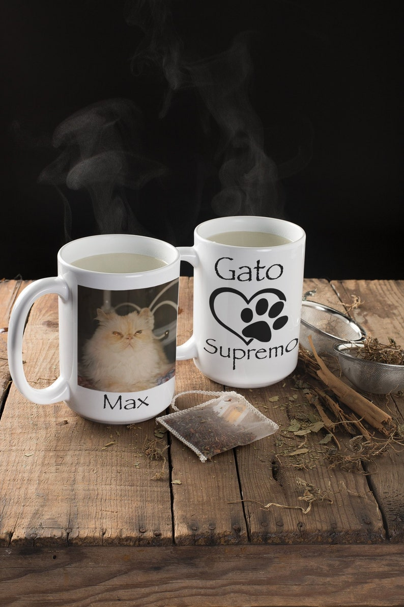 1ac6d4057da8 PERSONALIZED MUG PET sympathy gift cat mug Cat memorial | Etsy