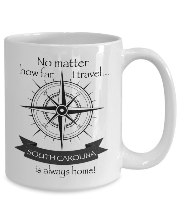 SOUTH CAROLINA STATE mug, Inexpensive gifts, Patriotic decor, Grandparent gifts, Novelty mug, Secret Santa gift