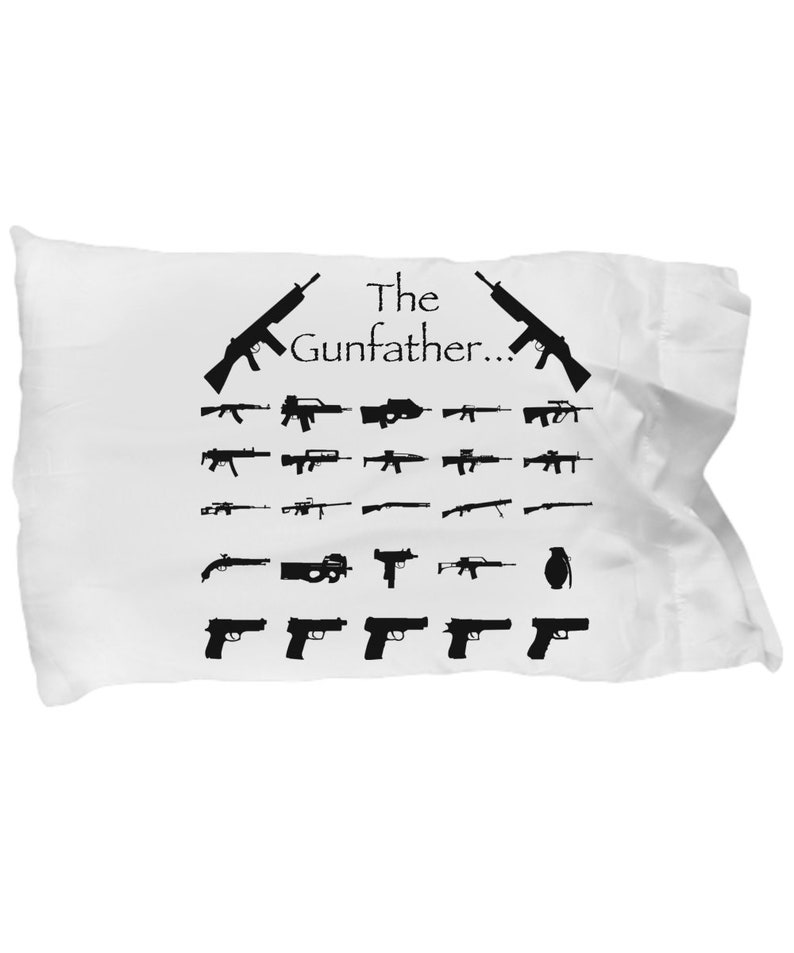 USMC pillowcase gifts for hunters Gunfather PILLOW COVERS deployment gift Air force military gifts boyfriend gift funny
