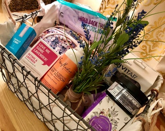 Mother's Day Spa Basket