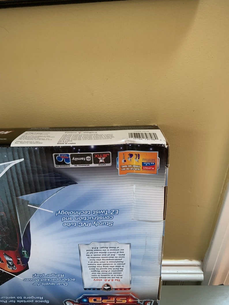Power Rangers SPD Space Station Play Station Set