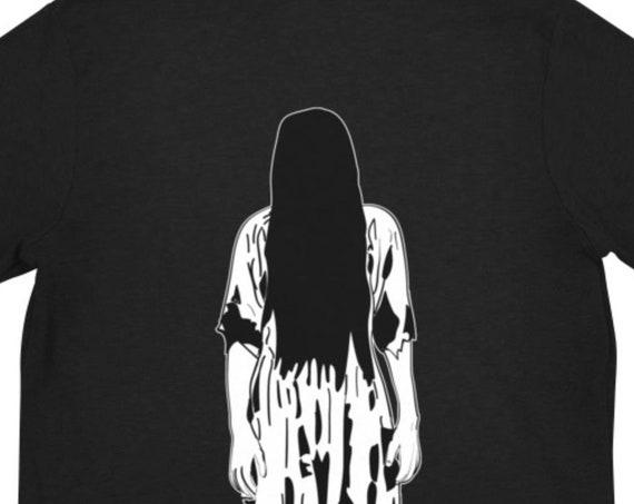 The Ring Hoodie, Horror Movie Clothing, Lightweight Zipper Sweatshirt, Halloween Aesthetic from Frenchtoastygood
