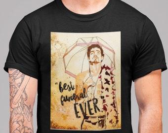 Umbrella Academy Shirt, Klaus Hargreeves Tee, TUA Number 4 Comic Artwork by Frenchtoastygood