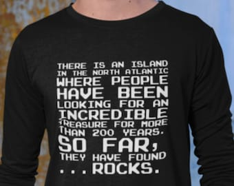 Oak Island Mystery Long Sleeve Tee, Funny Shirt for Curse of Fans, TV Show History