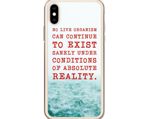Haunting of Hill House iPhone or Galaxy Phone Case, Netflix TV Show, Horror Movie Fans, Creepy Quotes, Ocean Water Mist