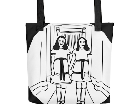 The Shining Twins Bag, Come Play With Us Danny Totebag, Horror Movie Memorabilia Gifts