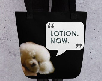 Funny esthetician gift tote, Silence of the Lambs Horror Goth Movie Fan, Dermatologist, Makeup Skin Care Aesthetic, LOL