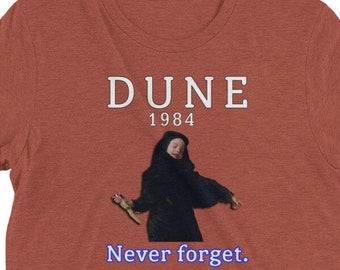 Dune 1984 T-Shirt, Cult Classic Movie, Vintage Retro Scifi Aesthetic