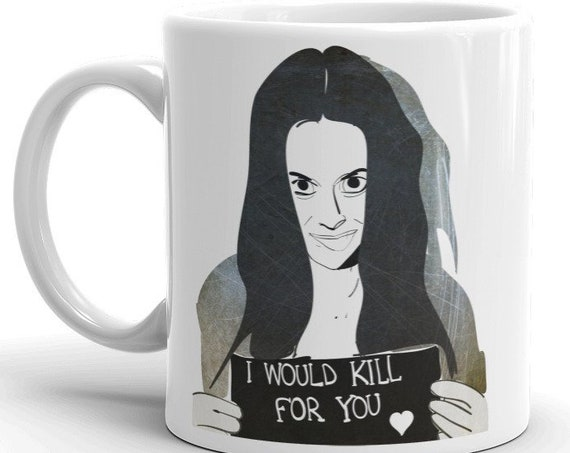 Manson Family Coffee Mug, Horror Gifts, I Would Kill For You, Dark Humor Etsy, True Crime Fans