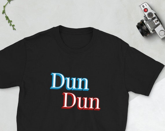 Dun Dun Law and Order T Shirt, Courtroom Drama Fandom, Funny Shirts for True Crime Fans