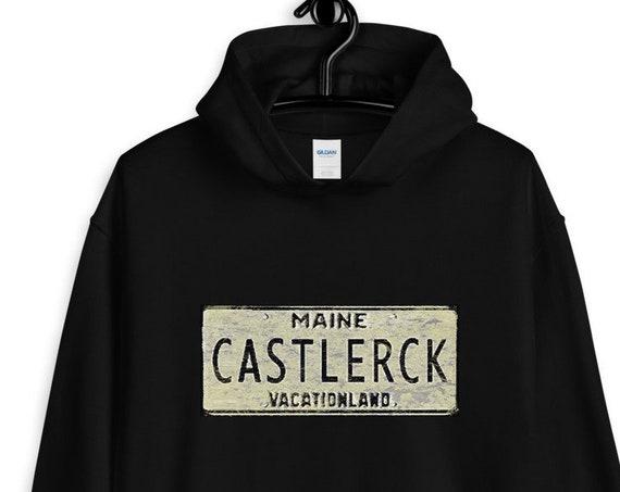 Castle Rock Maine Hoodie, King Fandom, Multiverse, Kingverse, IT, Horror Sweatshirt