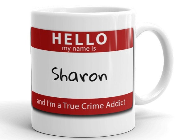 Personalized True Crime Mug, Unique Gift for Murder Show Junkies, Armchair Detectives