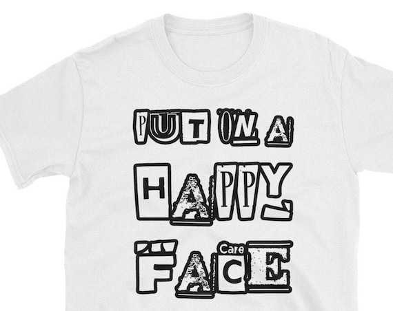 Put On A Happy Face Joker T Shirt, Unisex Tees for Joker Movie and Comic book Fans